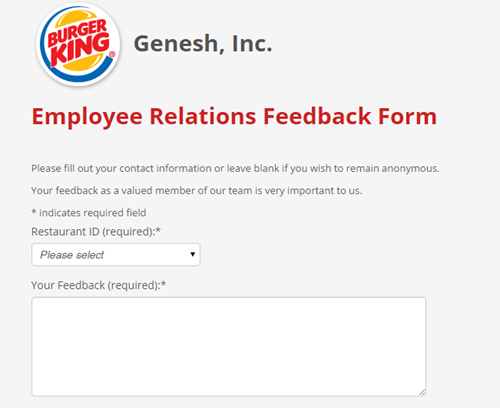 burger king management training manual
